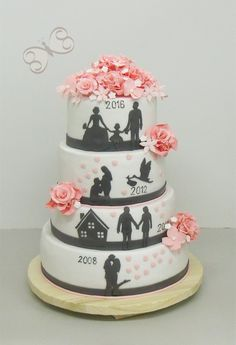 big wedding cakes Bolo de aniversrio de casamento The Effective Pictures We Offer You About DIY Anniversary surprise A quality picture can tell you many things. You can find the most Big Wedding Cakes, Wedding Cake Flavors, Wedding Cake Designs, Wedding Anniversary Cakes, Anniversary Gifts, Beautiful Cakes, Amazing Cakes, Gateau Baby Shower, Savoury Cake