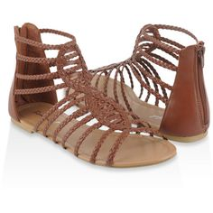 Infinity Gladiator Sandals ($19) ❤ liked on Polyvore featuring shoes, sandals, zapatos, flats, sapatos, women, open toe gladiator sandals, greek sandals, forever 21 and open toe flats