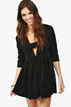 Valley Of The Dolls Dress - Black $128.00