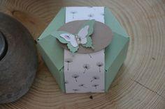 Stampin up Verpackung mit Falzbrett für Geschenktüten