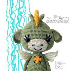 Crochet pattern DRAGON set 3 in Amigurumi animals pattern Crochet Patterns Amigurumi, Amigurumi Doll, Crochet Dolls, Mermaid Purse, Crochet Penguin, Crochet Dragon, Crochet Mermaid, Crochet Baby, Dragon Pattern