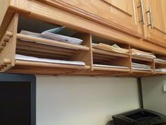 How to Build Shelves From Dowels: 1/2-inch dowels form the shelves for added desk storage space http://community.familyhandyman.com/tfh_group/b/diy_advice_blog/archive/2012/02/28/home-office-shelving-made-from-dowels.aspx