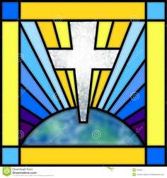 Stained Glass Cross - Download From Over 51 Million High Quality Stock Photos, Images, Vectors. Sign up for FREE today. Image: 504827