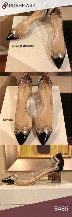 Nicholas Kirkwood Chevron Pump STUNNING Nicholas Kirkwood pumps purchased from Nieman Marcus. Never worn. Brand New in Box. Mint condition. Pristine. Nicholas Kirkwood Shoes Heels