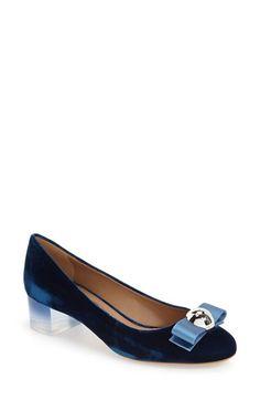 Free shipping and returns on Salvatore Ferragamo 'Fiammetta' Pump (Women) at Nordstrom.com. An ombré block heel and spherical…