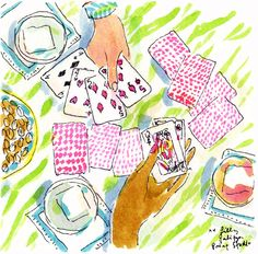 Not always playing with a full deck of cards #lilly5x5