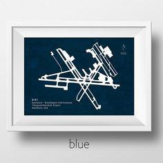 BWI Baltimore Washington International Airport Poster