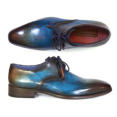 Hand-Painted Derby // Blue + Brown (Euro: 40) | $269.99 TOUCH OF MODERN