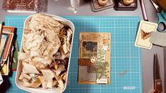Collage Design, Little Books, Junk Journal, Altered Art, Mixed Media, The Creator, Paper Crafts, Rosettes, Envelopes
