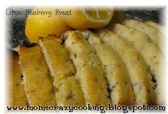 MOMS CRAZY COOKING: Lemon Blueberry Bread