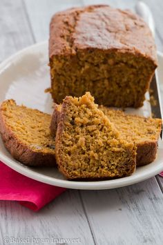 An incredibly moist pumpkin bread packed with sweet spices and loads of pumpkin flavor.
