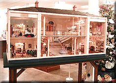 Gone With the Wind dollhouse