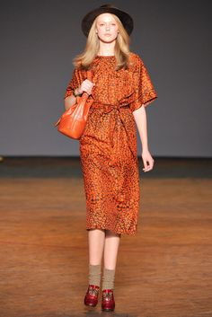 Marc by Marc Jacobs Fall 2011 Ready-to-Wear Fashion Show - Frida Gustavsson