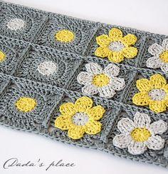 Dada yeri: Çiçekler, çiçekler, çiçekler ... ve bir eşarp