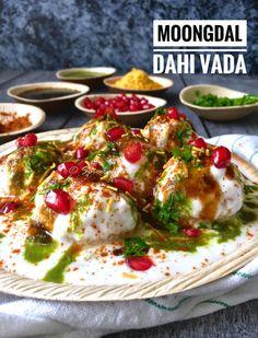 DAHI VADA / MOONG DAL KE DAHI VADE/ DAHI BHALLA