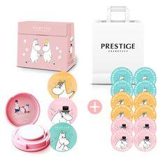 Demeter Moomin Cushion Perfume 3Scent&Refill Cusion 12EA Limite Edition Gift Set #Demeter