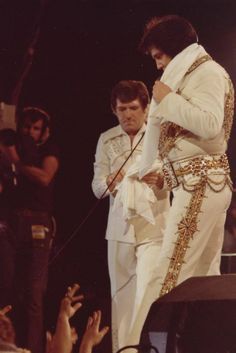 Elvis and Charlie 1977