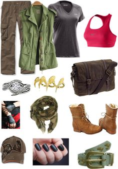 """zombie apocalypse gear"" by ksims721 ❤ liked on Polyvore"