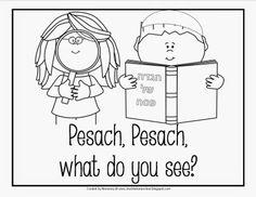 A Jewish Homeschool Blog: Pesach book modeled after Brown Bear, Brown Bear