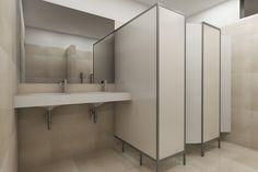 Resultado de imagen para mamparas para baño publico