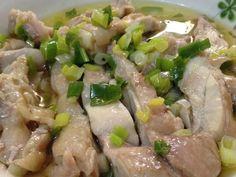 不用再去外面買鹽水雞,用電鍋,就可以出好吃的雞肉切盤!