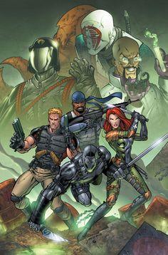 Valor vs. Venom GI JOE by ColtNoble.deviantart.com on @deviantART