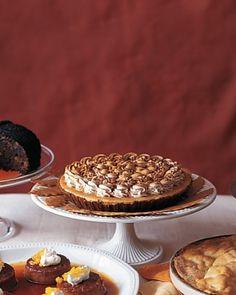 Pumpkin-Mousse Pie