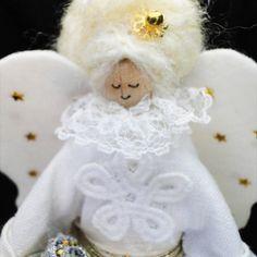 Luxury Christmas Decoration Traditional Angel - Handmade Exclusive, Paradis Terrestre - Luxury British Made Accessories & Homeware