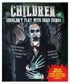 Children Shouldn't Play With Dead Things 1972 Horror Movie Zombies