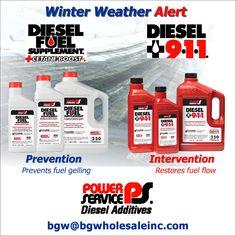 Power Service Diesel Supplement and Diesel 9-1-1.
