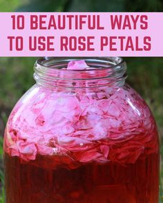There's so much the creative person can do with a plentiful supply of rose petals. Keep your pantry stocked with this versatile flower, and you'll be amazed at the ways that rose petals begin to enter your life. Rose Petals Craft, Fresh Rose Petals, Flower Petals, Flowers, Rose Crafts, Flower Crafts, Rose Petal Uses, Diy Beauty Face, Spelling For Kids