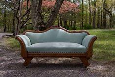 Antique Victorian Couch circa 1890 #Victorian