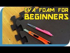 Working with EVA Foam for Costume Construction