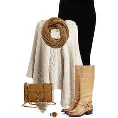 """Tan Legged Juliet"" by aaauty on Polyvore"