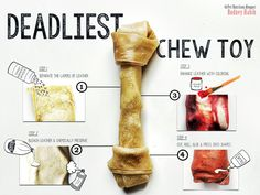 THE MOST DANGEROUS PET CHEW EVER: RAWHIDE! – as posted by PlanetPaws How can one of the most popular chew sticks on the planet be so dangerous for your pets, you ask? I mean, most dogs chew o…