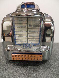 Select O Matic 100 Jukebox Thomas Collectors Edition Radio Model CR-10 Vintage #Thomas