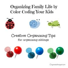 Color coding my kids has helped teach them some of the 7 habits of successful people