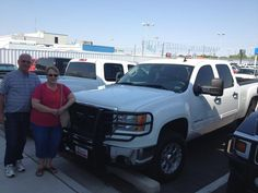 TJ sold Mr. and Mrs. Lee a 2500 Sierra