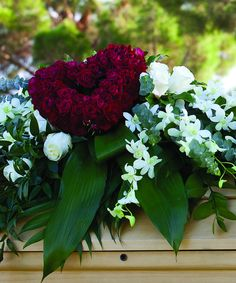 Casas Adobes Flower shops specializes in rose hearts & casket sprays or your funeral or memorial in Tucson and Oro Valley AZ. Funeral Flower Arrangements, Funeral Flowers, Cemetary Decorations, Funeral Caskets, Casket Flowers, Funeral Sprays, Casket Sprays, Funeral Tributes, Memorial Flowers
