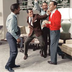 "Josh Howard, Sam Harmon, Danny Ocean, & 'Mushy' O'Connors (Sammy Davis Jr., Dean Martin, Frank Sinatra, Joey Bishop) ""Ocean's Eleven"" (1960) (10/9/11)"
