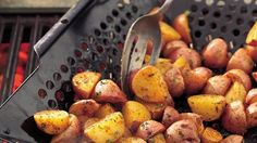 Here are the potatoes!  They're looking for ribs, steaks or chops to partner with for great grilling flavors.