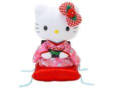 Hello Kitty Kimono Plush Doll SANRIO Made in JAPAN