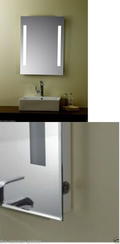 Mirrors 133693 Led Bathroom Wall Mirror Oval Illuminated Lighted Vanity W Touch Button BUY IT NOW ONLY 21999 On EBay