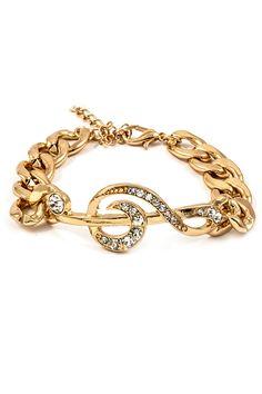 Music Charm Bracelet #music #fashion #style #bracelet #musicfashion #jewelry http://www.pinterest.com/TheHitman14/music-jewelryaccessories-%2B/