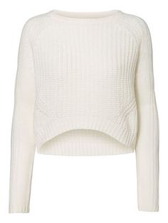 Cropped knitted jumper from VERO MODA. #veromoda #knit #cropped #fashion