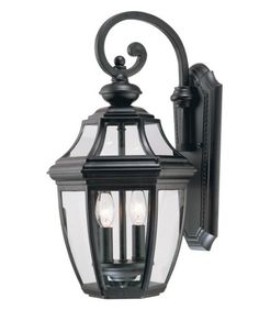 Savoy House Lighting 5-492-BK Endorado Collection 2-Light Outdoor Wall Mount Lantern, Black Finish with Clear Glass Savoy House Lighting http://www.amazon.com/dp/B0014HOEWI/ref=cm_sw_r_pi_dp_ulB0tb156HD53SB8