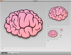 How to Illustrate a Brain Icon for OSX and Vista - Tuts+ Design . Cartoon Brain, Brain Icon, Create A Cartoon, Brain Illustration, Cartoon Styles, Artist, Journaling, Cartoons, Inspiration