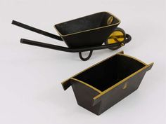 Carl Aubock Brass Office Desk Set, Austria, 1950s   From a unique collection of antique and modern desk accessories at https://www.1stdibs.com/furniture/decorative-objects/desk-accessories/