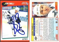 John Tonelli L.A. Kings Autographed 1991-1992 Score Canadian Card #172 SL COA . $5.00. L.A. Kings LWJohn TonelliHand Signed 1991-1992 Score Canadian Card# 172.GREAT AUTHENTIC HOCKEY COLLECTIBLE!!AUTOGRAPH AUTHENTICATED BY SPORTS LOT AUTHENTICATIONS WITH NUMBERED SPORTS LOT AUTHENTICATION STICKER ON ITEM.SPORTS LOTCOA: # 8097ITEM PICTURED IS ACTUAL ITEM BUYER WILL RECEIVE.