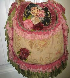 Lovely Magnolia Pearl Bag Vintage Purses, Vintage Bags, Vintage Outfits, Unique Purses, Handmade Purses, Fashion Bags, Boho Fashion, Ropa Shabby Chic, Peacock Purse